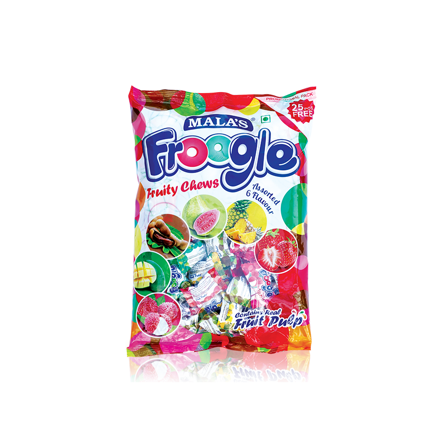 Assorted Froogle 500gm (20 pcs) Pouch