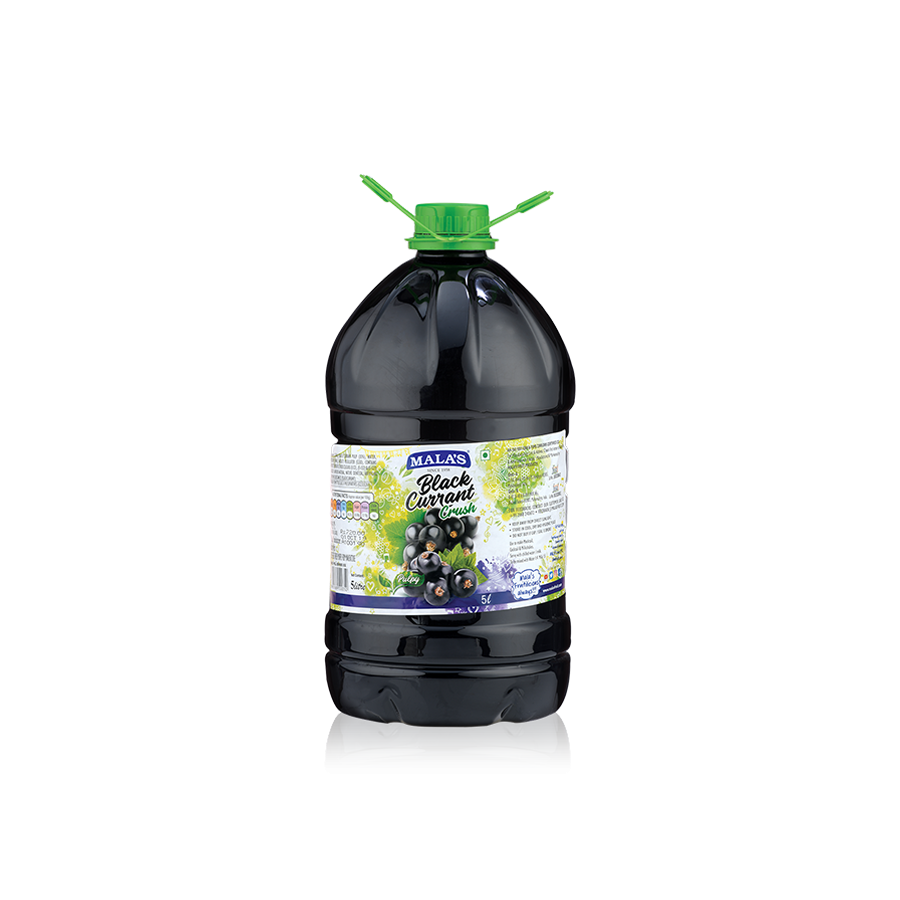 Black Currant Crush 5 LTR Pet Bottle