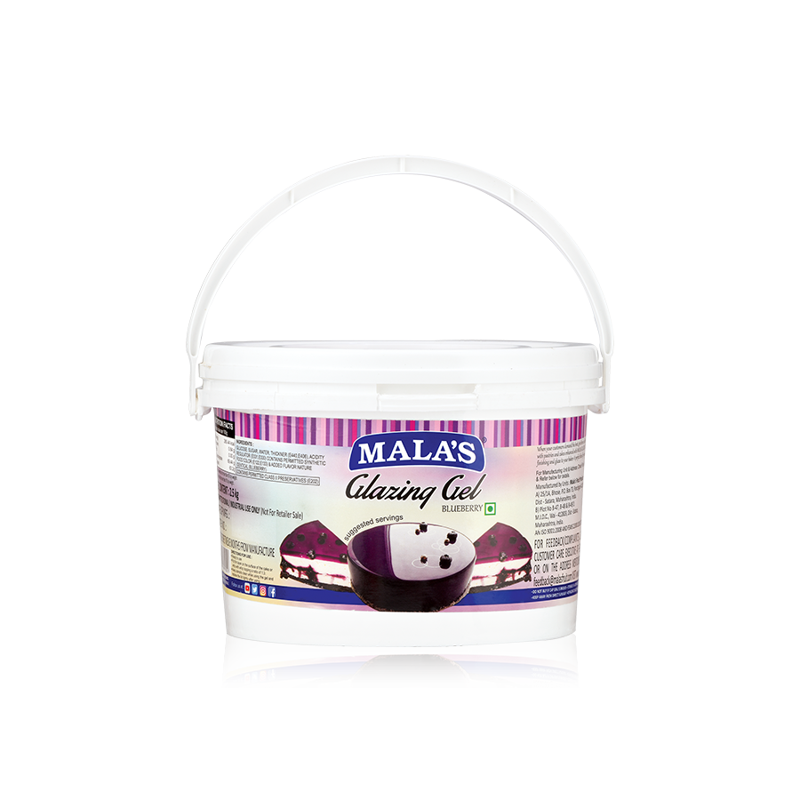 Blueberry Glaze Gel 2.5kg Bucket