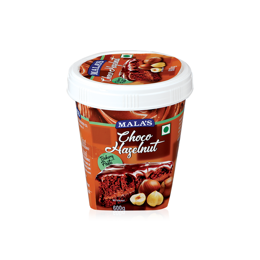 Choco Hazelnut Paste 600gm Tub