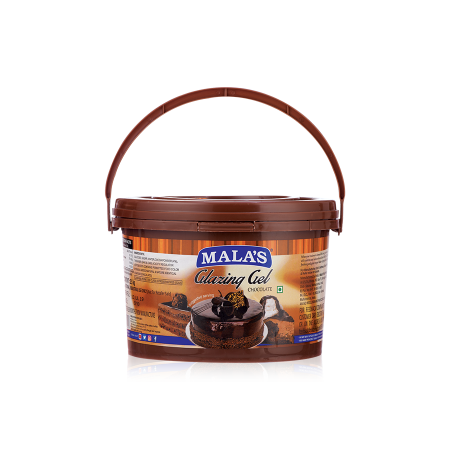 Chocolate Glaze Gel 2.5kg Bucket