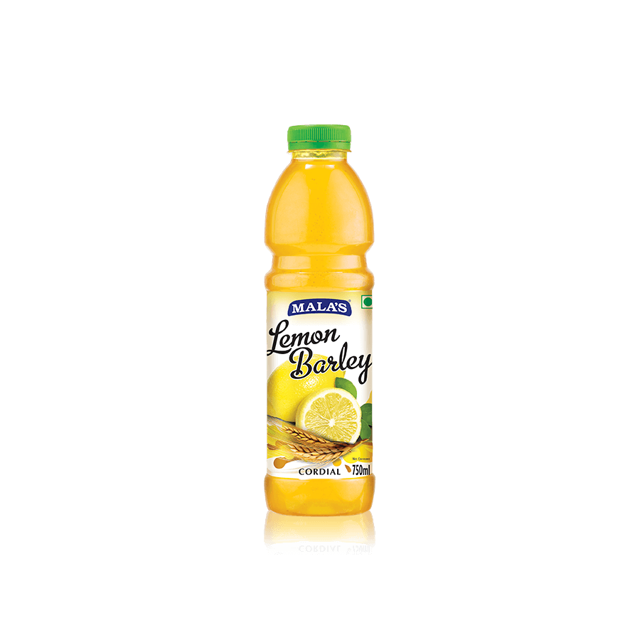 Lemon Barley Water Cordial 750ml Pet Bottle