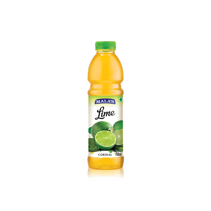 Lime Cordial 750ml Pet Bottle