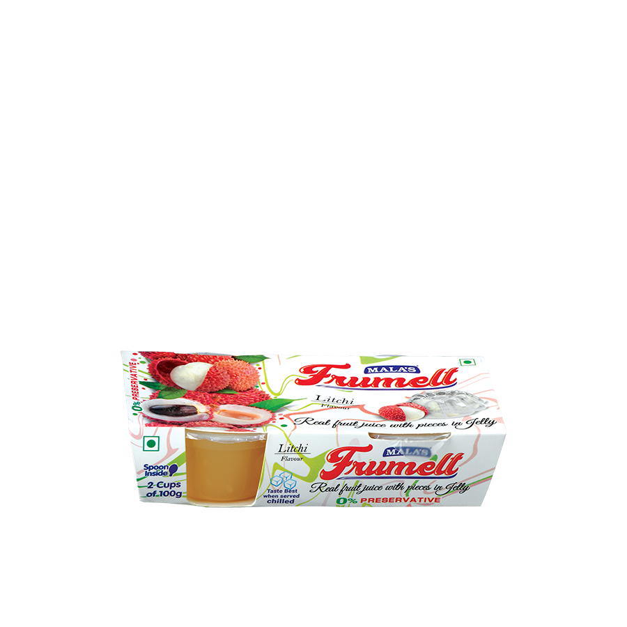 Litchi Frumelts 200gm (Pack of 2)