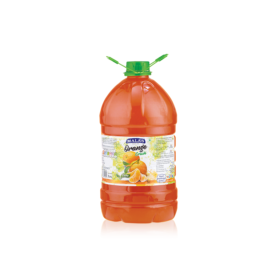 Orange Crush 5000ml Pet Bottle