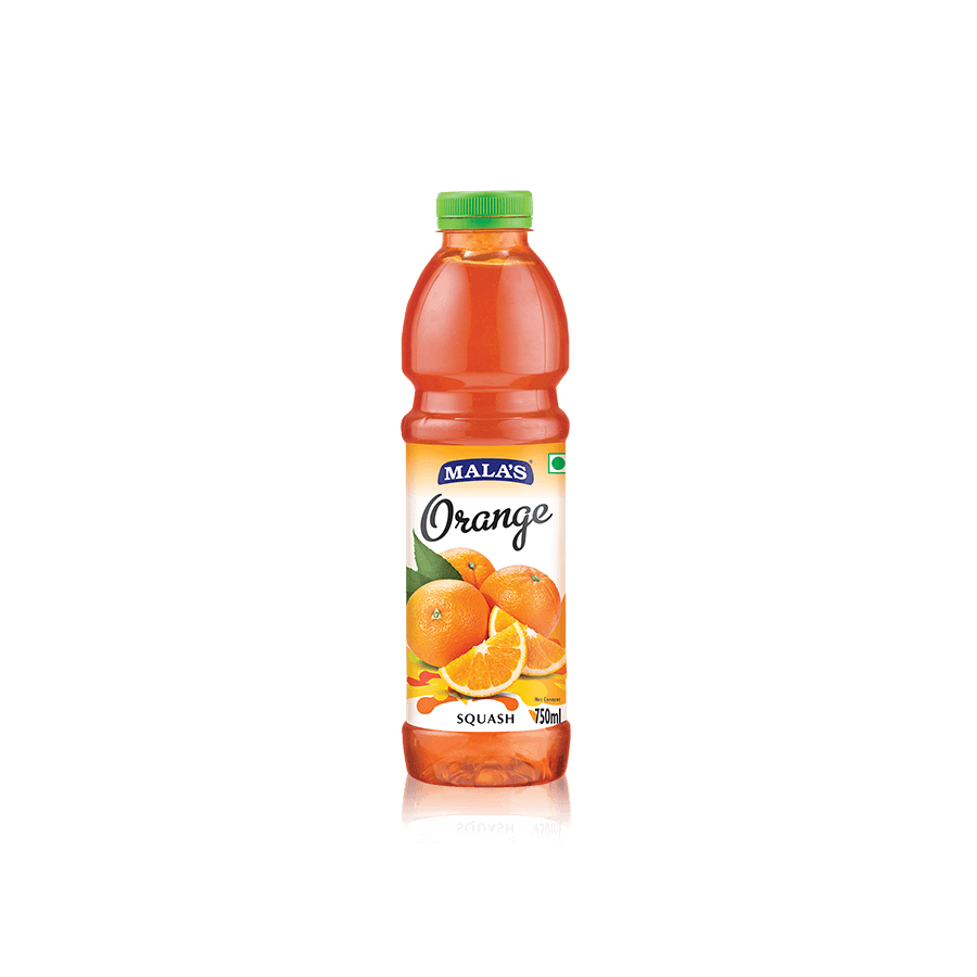 Orange Squash 750ml Pet Bottle