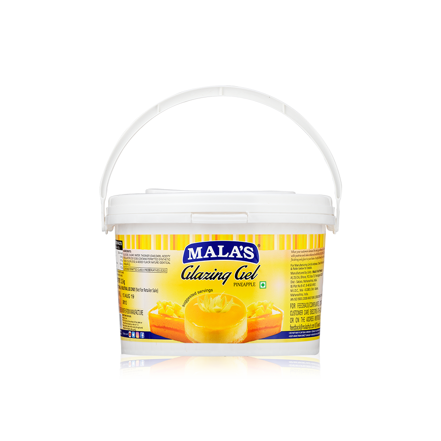 Pineapple Glaze Gel 2.5kg Bucket