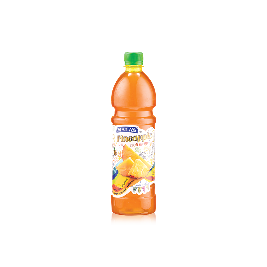 Pineapple Syrup 750ml Pet Bottle