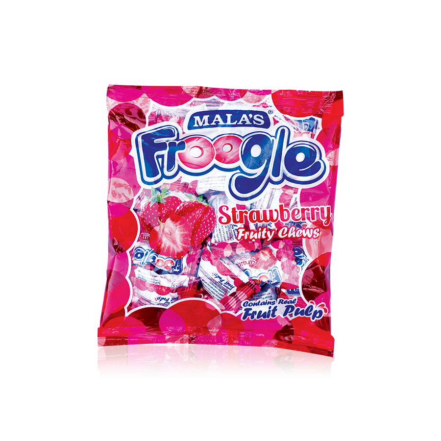 Strawberry Froogle 100gm Pouch