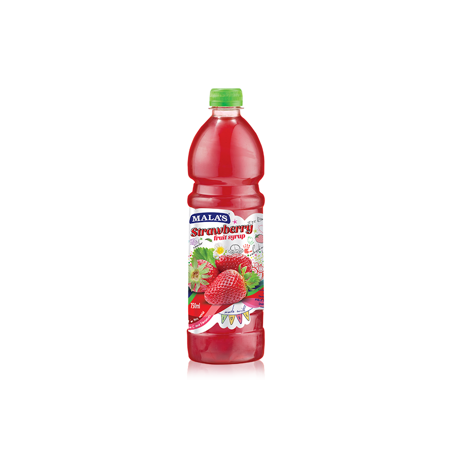 Strawberry Syrup 750ml Pet Bottle